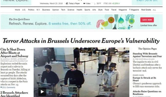 Attentato Bruxelles