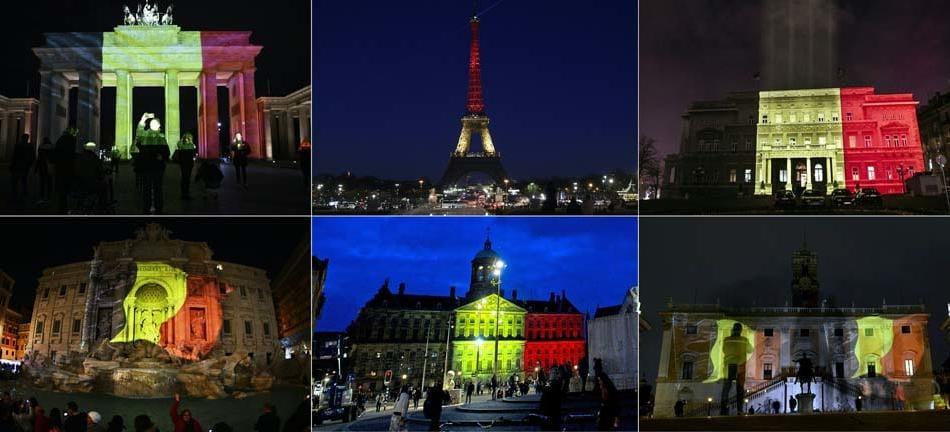 bandiera belgio monumenti