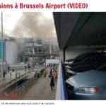 Esplosioni aeroporto Bruxelles