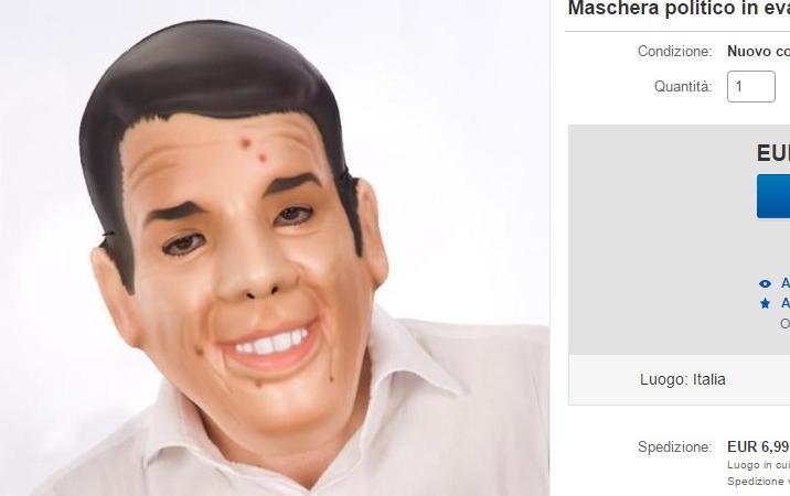 maschera renzi
