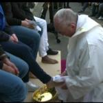 Papa Francesco Lavanda piedi