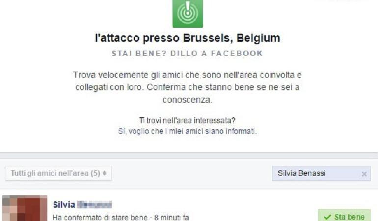 attentati bruxelles facebook