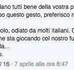 Ciro Salvo Matteo Renzi insulti facebook