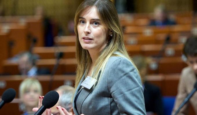 Maria Elena Boschi riforme costituzionali