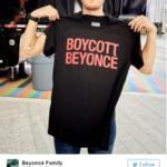 beyoncé magliette boicotta beyoncé