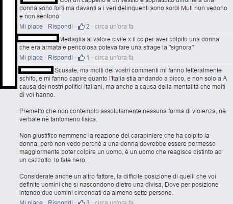 chi l'ha visto video carabinieri picchiano donna rimozione auto