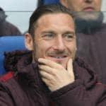 Francesco Totti con le Olimpiadi e Giachetti