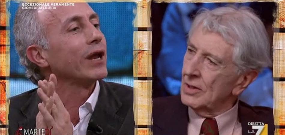 Corrado Augias Marco Travaglio