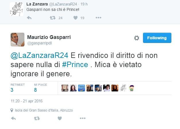 maurizio gasparri prince