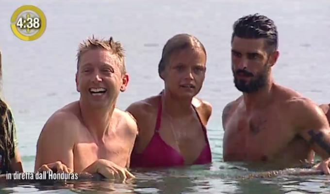 mercedesz henger apnea isola dei famosi 2016 video