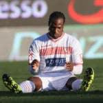 Carpi-Lazio Jerry Mbakogu due rigori sbagliati