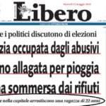 Libero Quotidiano Prima Pagina Sara Di Pietrantonio
