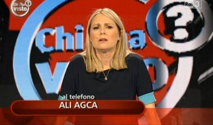 Federica Sciarelli Alì Agca