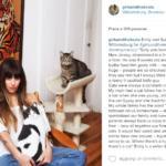 ragazze gatti instagram foto brianne willis
