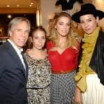 Amber Heard picchiava l'ex moglie Tasya Van Ree