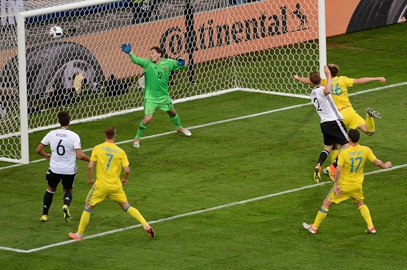 Germania-Ucraina video gol highlights