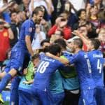 ITALIA-SPAGNA 2-0 prime pagine