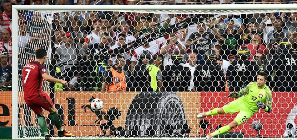 Polonia-Portogallo calci di rigore video