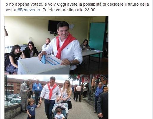 Risultati Ballottaggio sindaco Benevento 2016