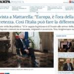 Sergio Mattarella Brexit