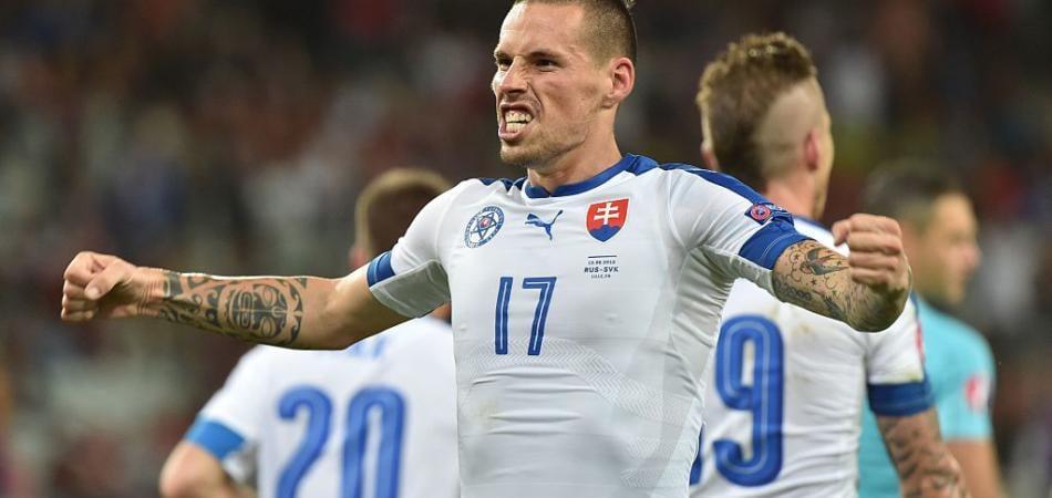 Russia-Slovacchia Video gol Marek Hamsik