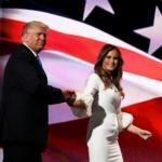 Melania Trump Michelle Obama Convention