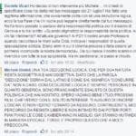 Vicari censurato Diaz Facebook scuse