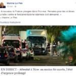 Attacco Nizza camion commenti politici