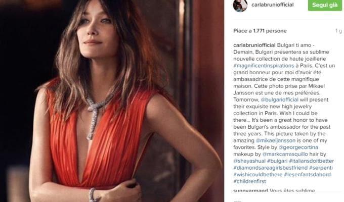 carla bruni instagram