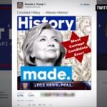 Donald Trump Twitter antisemitismo