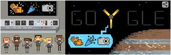 Doodle Google sonda Juno