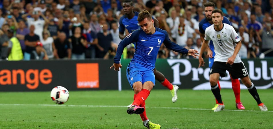 Germania-Francia video gol rigore griezmann