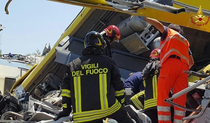 incidente treni puglia cause