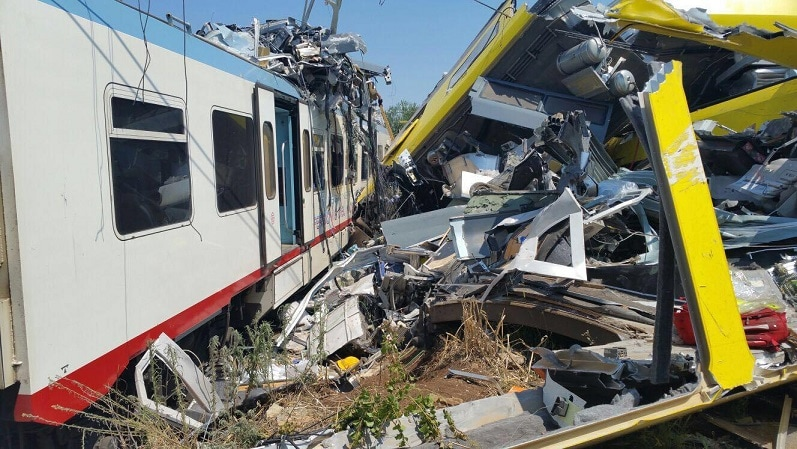 nomi morti incidente treni puglia