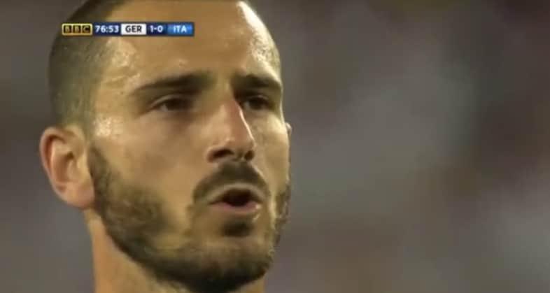 Italia germania video gol Bonucci rigore