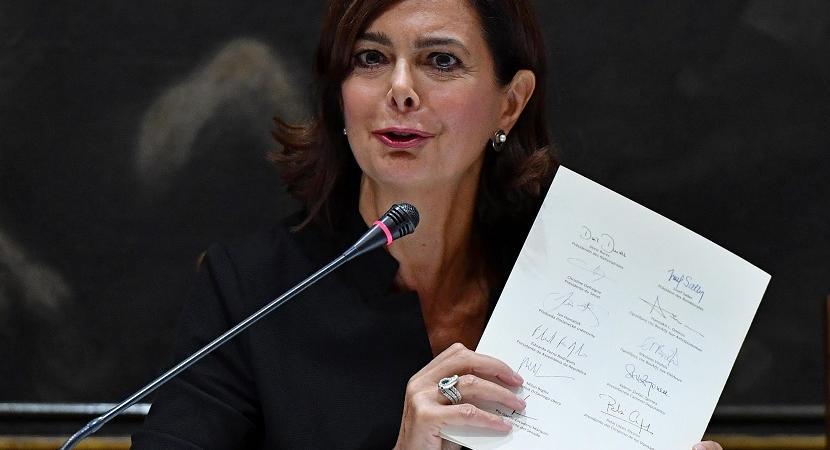 Laura Boldrini eliminazione Lega