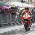 Marc Marquez incidente spalla