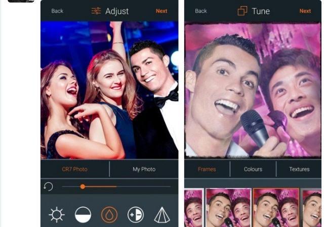 Arriva Cr7 Lapp Per I Selfie Con Cristiano Ronaldo