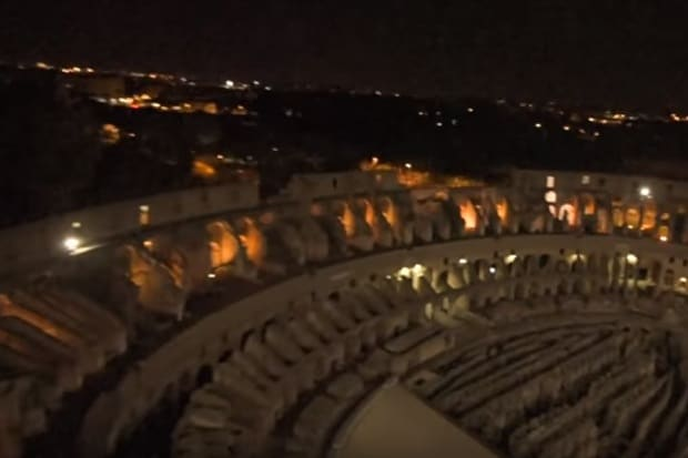video colosseo