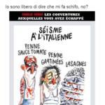 Charlie Hebdo vignetta terremoto Italia