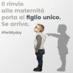 FERTILITY DAY CARTOLINA FIGLIO UNICO