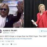 Hillary Clinton malattia complottismo
