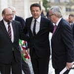 Matteo Renzi Europa referendum costituzionale