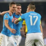NAPOLI-BENFICA 4-2 VIDEO GOL HIGHLIGHTS