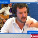 Salvini compleanno Totti