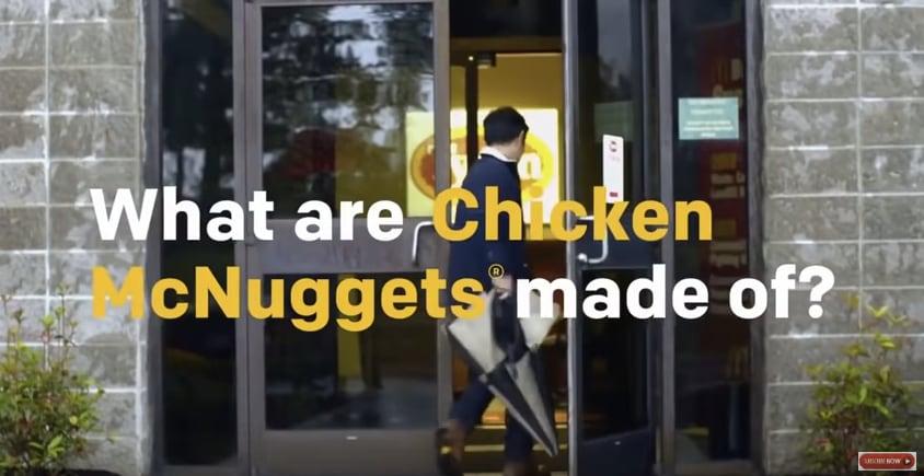 Cosa c'è veramente dentro i Chicken McNuggets