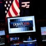Hillary Clinton Donald Trump dibatitto TV