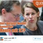 Daniela Augenstein pensione 37 anni