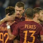 Roma-Crotone 2-0 video gol el shaarawy salah