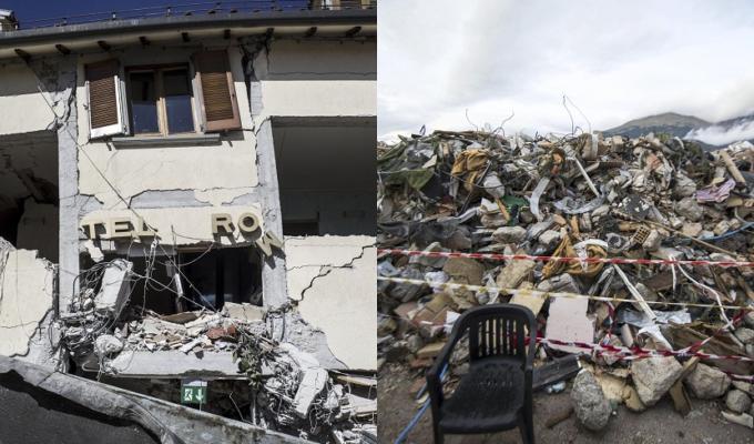 Terremoto Amatrice case terremotati